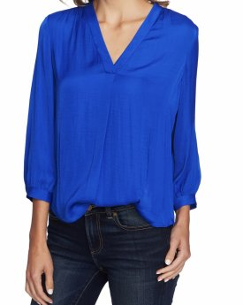 Vince Camuto Rumple Fabric Blouse $74.00