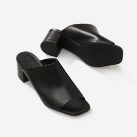 The Leather Mule Sandal $102
