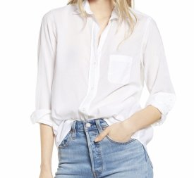 Grayson The Hero Tissue Cotton Button Up Shirt $128.00