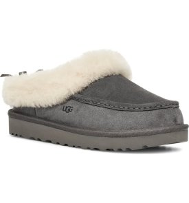 Grove Genuine Shearling Trim Slipper