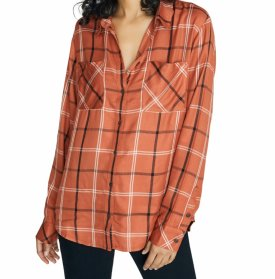Sanctuary New Generation Plaid Boyfriend Shirt $79.00