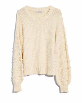 Madewell Bobble Sweater $98.00