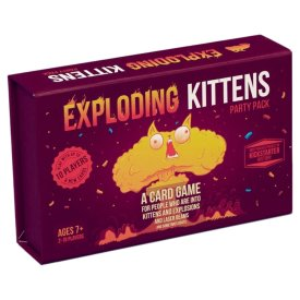 Exploding Kittens Party Pack Game $29.99
