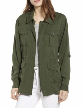 Cupcakes and Cashmere Soft Utility Jacket $104.99