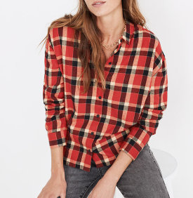 Madewell Flannel $40