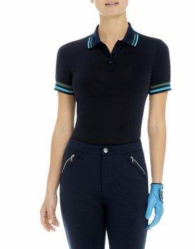 G/FORE Tipped Pique Polo