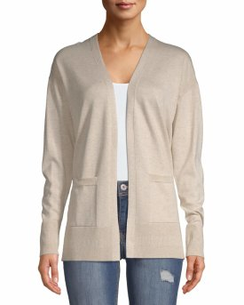 Time and Tru Open Front Cardigan $13.96