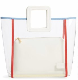 Stand Shirley Framed Transparent Handbag