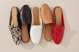 The Day Loafer Mule $90