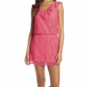 Lilly Pulitzer Alessia Lace Skort Romper $168.00