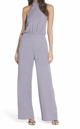 Lulus Moment For Life Halter Jumpsuit $68.00