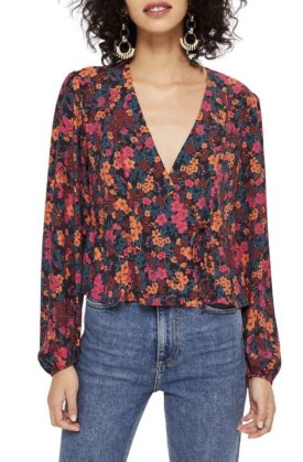 TopShop Grand Estate Floral Blouse