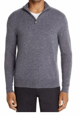 Cashmere Half Zip Sweater $ 159.99