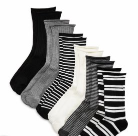 Ralph Lauren Ribbed Double Stripped Sock Set $20.00