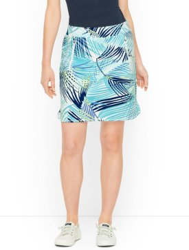 Everyday Painted Fronds Skirt $69.50