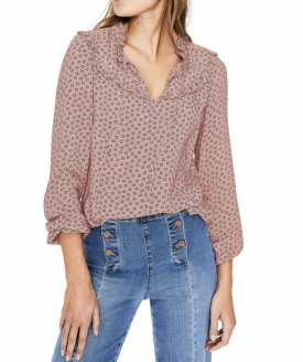 Boden Betsy Floral Print Blouse