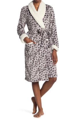 Shimera Faux FurLined Robe $39.97