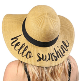 Funky Floppy Sun Hats Are All The Rage!