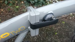 Main clamp lever on Raleigh Evo 2