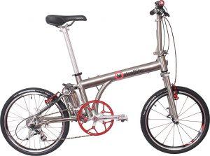 Seattle Cycles' Metro Bike Electric Folding Bike