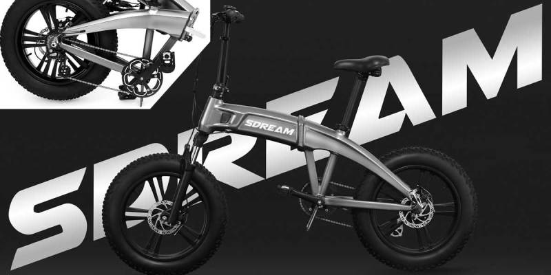 SDREAM Folding e-bike