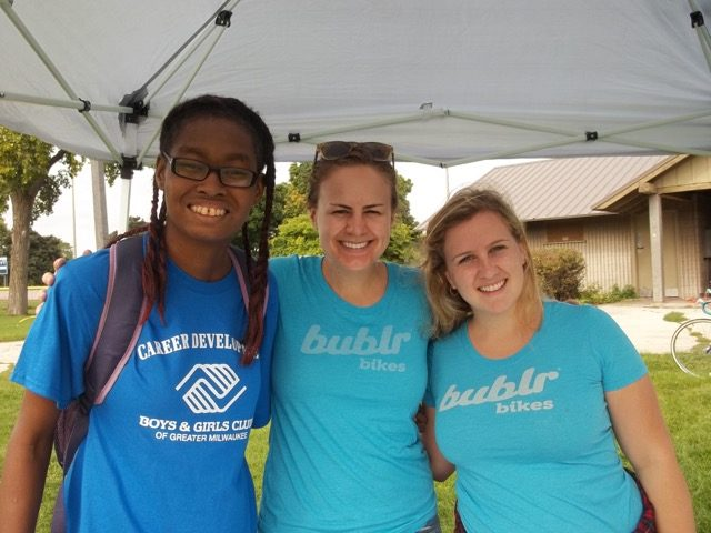 bublr bikes outreach