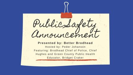 Public Safety Announcement