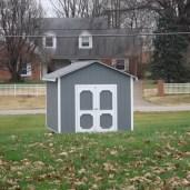 10x8x9 6'sidewalls Barn House