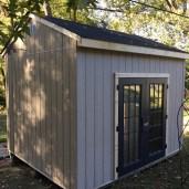 10x12x11 8'sidewalls Barn House