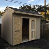 8x10x9 7'sidewalls Garden Shed