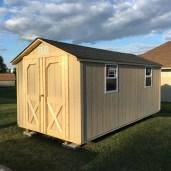 8x16x8 6'sidewalls Barn Shed