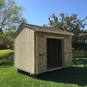 8x12x10 7'sidewalls Barn House with 12'' Overhang
