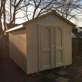 8x12x9 6'sidewalls Barn House
