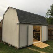12x16x13 7'sidewalls Barn #2