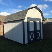 8x12x10 6'sidewalls Barn #4