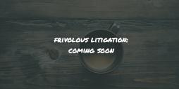 Frivolous litigation