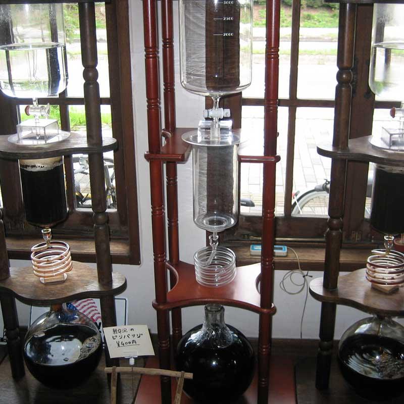 iced coffee drip brewer