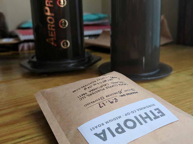 Casita Coffee Ethiopian