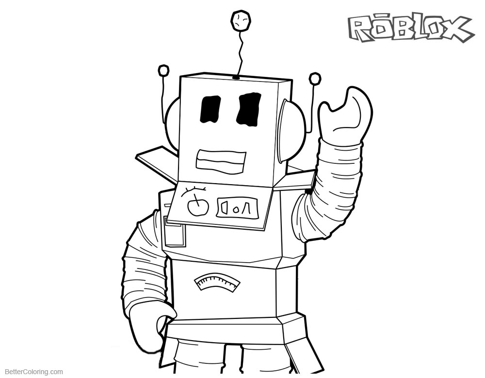 Roblox Noob Coloring Pages Learn How To Draw Noob From
