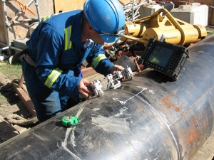 Ultrasonic pipe testing is one way to assess things.