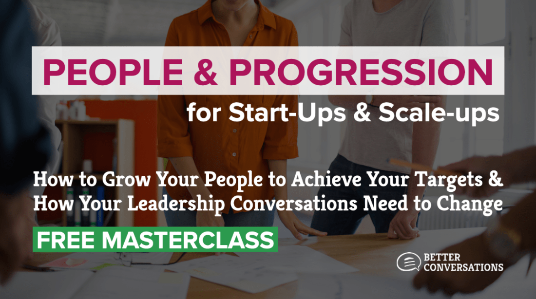 People & Progression for Start-Ups & Scale-ups