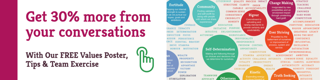 30% Richer Conversations with our Free Values Poster | Better Conversations