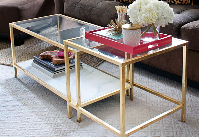 Spray Paint Glass Table Top Brokeasshome Com