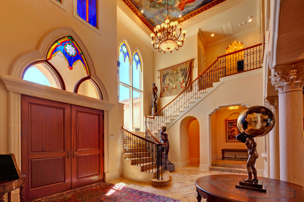 Home Tour Impeccable Mediterranean Waterfront Home
