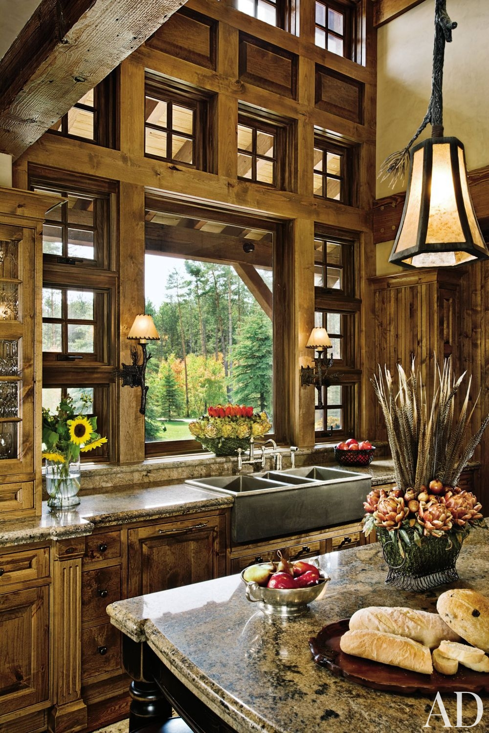 Nature Inspired - Bring in the Outdoors with these Simple ... on Rustic Traditional Decor  id=97630