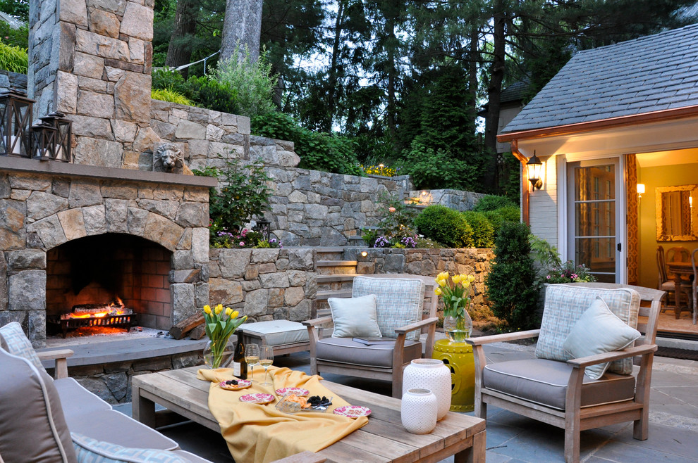 7 Patio Must-Haves for Summer Entertaining ... on Outdoor Fireplaces Ideas  id=82275