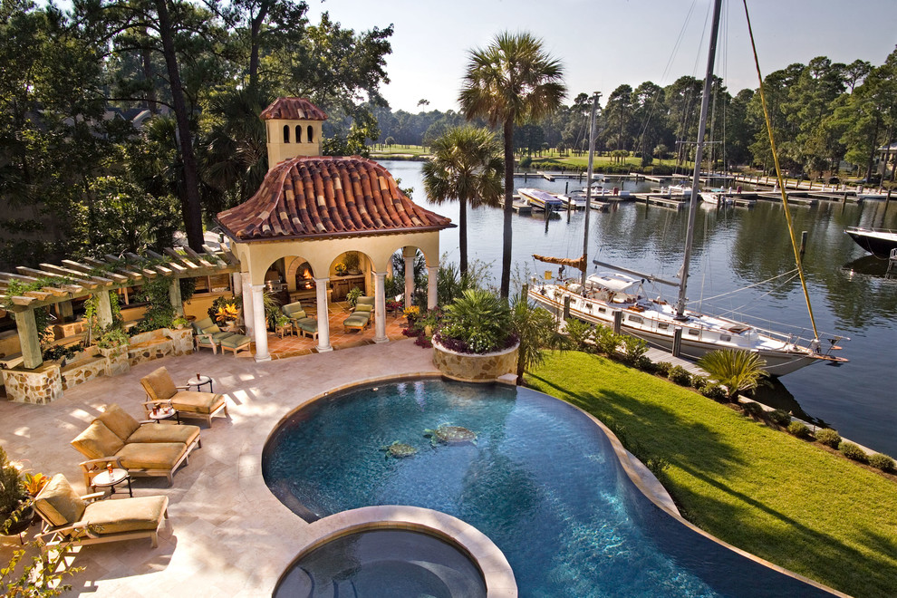 South Carolina Home Tour: Take a Rare Glimpse Into This ... on Dream Backyard With Pool id=18602