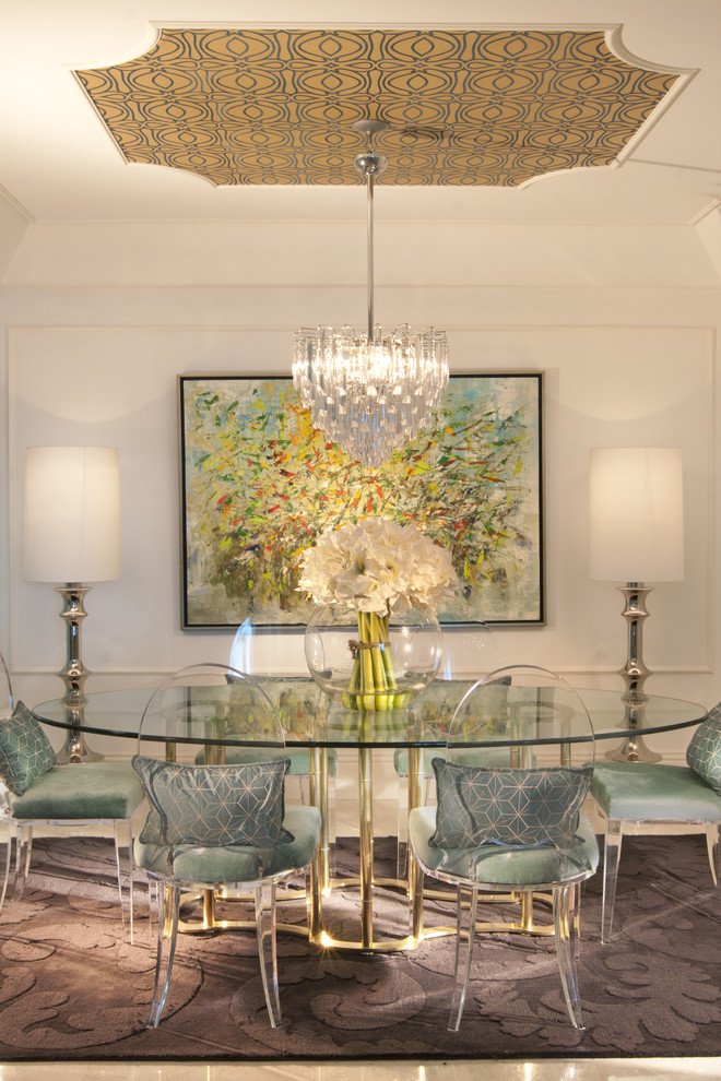 Dining Chair Trends for 2016 - From Vintage Elegance to ... on Dining Table Ceiling Design  id=55654