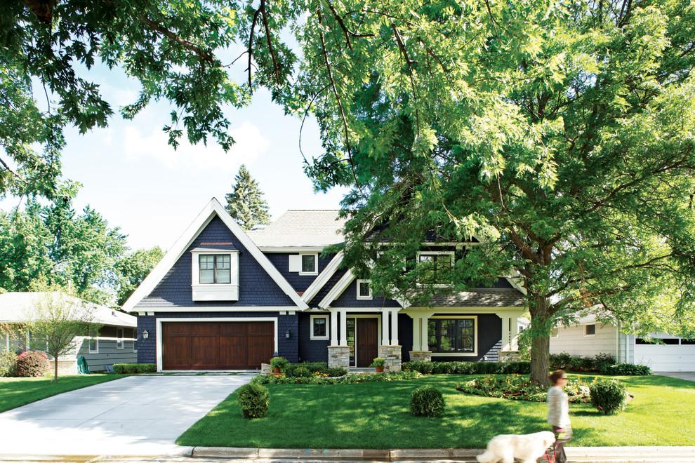 7 Easy Garage Door Makeover Ideas to Boost Your Home's ... on Garage Door Colors Pictures  id=47718