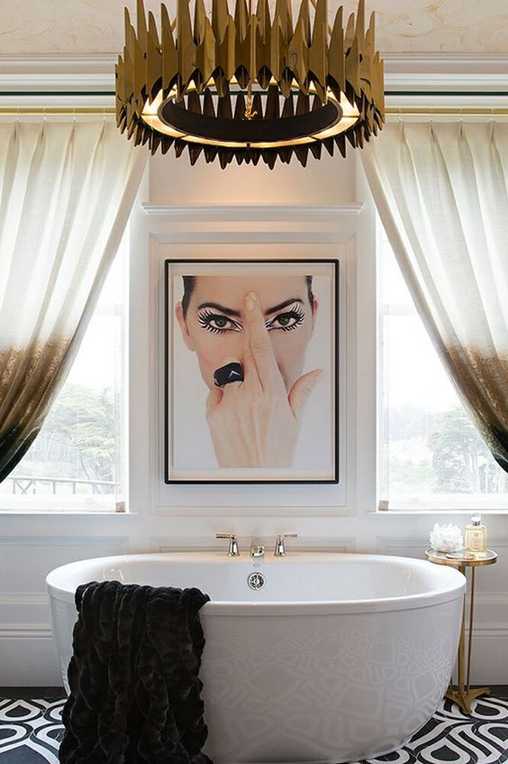 Brilliant Dcorating Ideas To Make A Bland Bathroom Come To Life